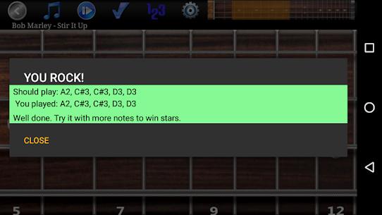 Bass Guitar Tutor Pro Re-engineered bass lines MOD (Paid) 4
