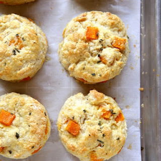 Butternut Squash and Rosemary Biscuits