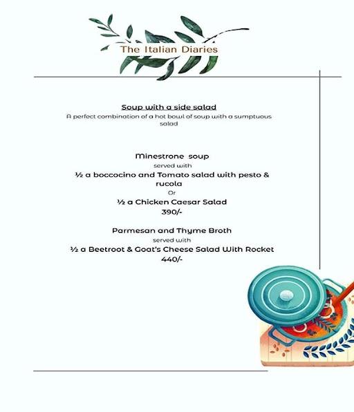 Madam Gusto menu 7