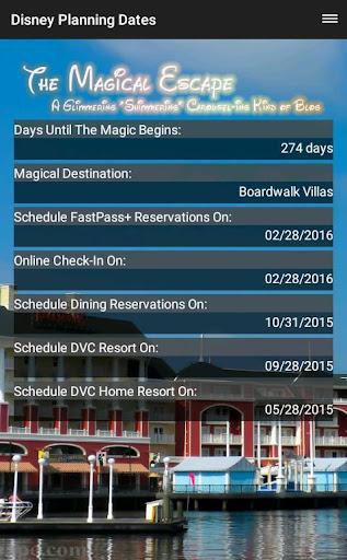 Planning Dates for Disney