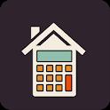 Real estate investment calculator icon