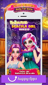 Princess Salon - Halloween Girl Makeup & Dress up 1.0.2