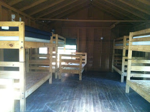 Photo: Inside another juniors cabin.