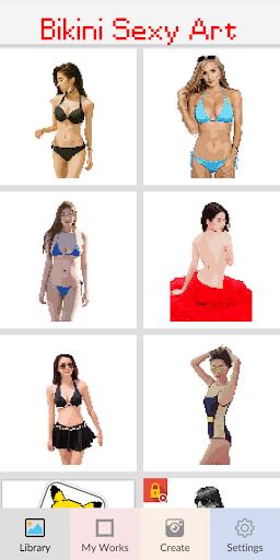Bikini Pixel Art - Color Sexy Suit Girls Apk 1