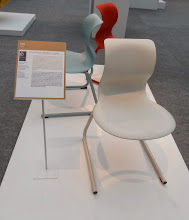 """Photo: """"PRO does not predefine any particular way of sitting. It is just as easy to sit on it sideways or astride."""" #GermanDesignAward"""