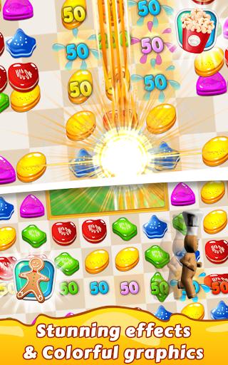 Cookie Star: Sugar cake puzzle match-3 game apktram screenshots 21