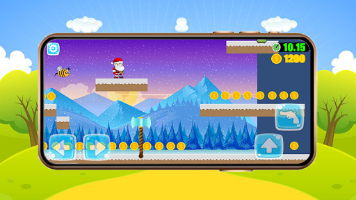 Super Jungle Santa Adventures - New Adventure Game android2mod screenshots 3