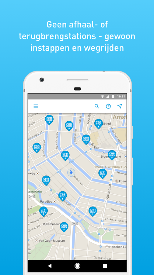 car2go: screenshot