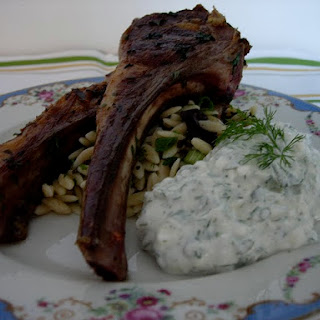 Rosemary and Garlic Grilled Lamb Chops.