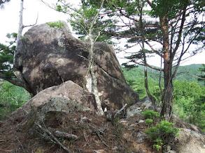 大岩に到着