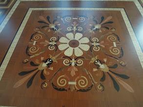 Photo: Udsnit af gulvet i tronsalen