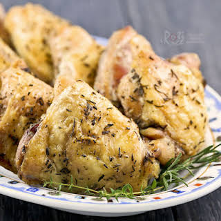 Rosemary Thyme Baked Chicken.