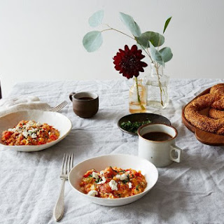 Menemen (Turkish Scrambled Eggs with Tomatoes and Peppers) Recipe