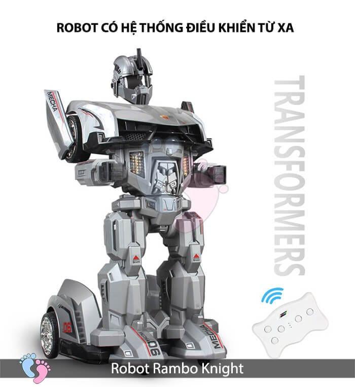 Siêu phẩm Robot Rambo Knight Cho bé 1
