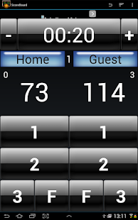 Basketball Score- screenshot thumbnail