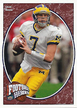 Photo: Chad Henne 2008 Upper Deck Heroes RC (#118)