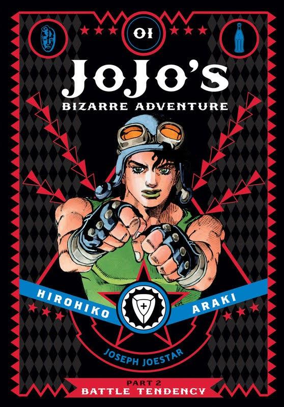 JoJo's Bizarre Adventure: Part 2: Battle Tendency (2015) - complete