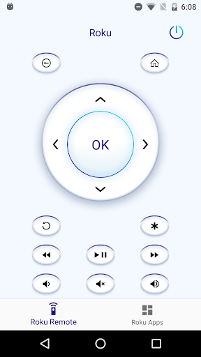 Smart remote for Roku - screenshot
