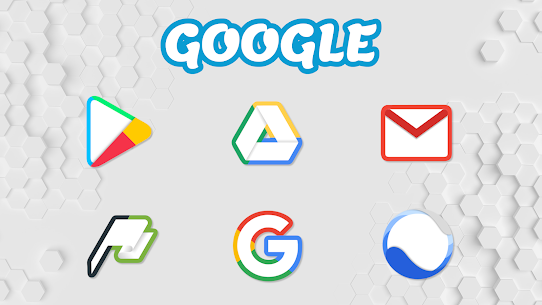 Color Line Icon Pack- color lines on white icons v2.2 [Patched] 2