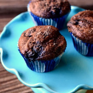Chocolate Blueberry Muffins Recipes.