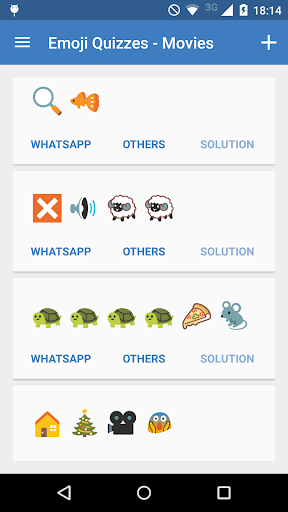 Emoji Quizzes for WhatsApp