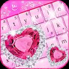 Pink Diamond Princess Keyboard Theme icon
