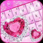 Tải Chủ đề bàn phím Công chúa Kim cương hồng APK