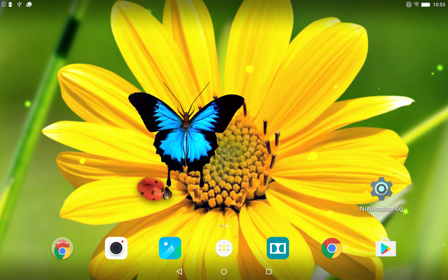 flowers 3d parallax background android apps on google play