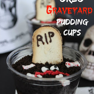 Oreo Graveyard Pudding Cups
