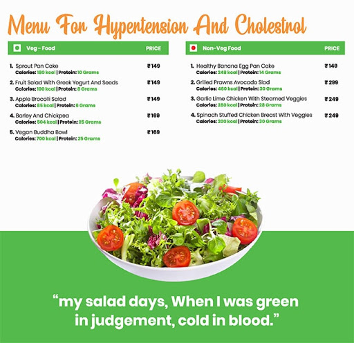 Healthy House menu 5
