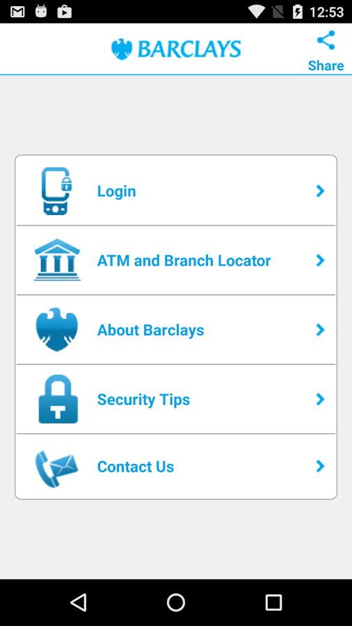Barclays Zimbabwe- screenshot