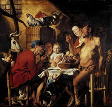 Photo: Jacob Jordaens, Satyr with Peasants, Ca. 1620-21