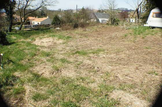 Vente terrain 1621 m2