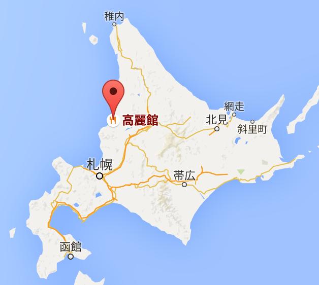 地図:高麗館
