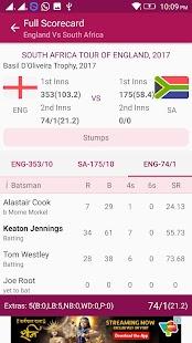 Cricace - Live Cricket Scores & News - náhled