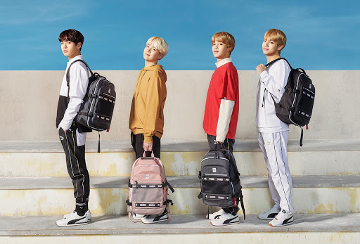 BTS Traveling pics