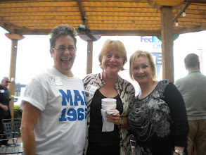 Photo: Carol (Craven) Barnes, Vicki (Meinkoth) Klein, Suzy (Wright) Thomas