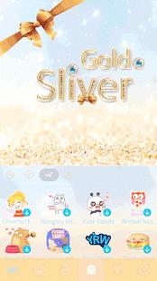 Gold-Sliver-Kika-Keyboard 4