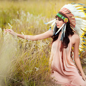 The Apache by Jefry Chandra - People Portraits of Women