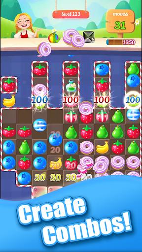 New Sweet Fruit Punch u2013 Match 3 Puzzle game 1.0.27 screenshots 3