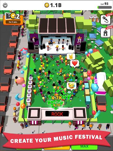 Idle Concert apkdebit screenshots 9