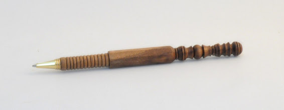 "Photo: MICHAEL BLAKE - Desk Pen - 6.5"" - Walnut"