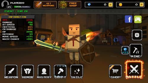 Screenshot 1 Pixel Blade - Season 2 5.7 APK MOD