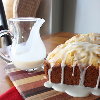 This Eggnog Bread With A Rum Glaze Is A Must Make This Christmas!.