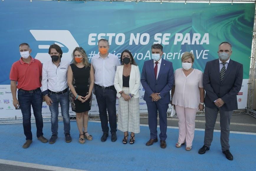 Delegación de cargos institucionales de Ciudadanos Almería, con Marta Bosquet al frente de la misma.
