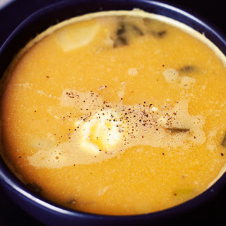Curry Ginger Carrot Cauliflower Soup