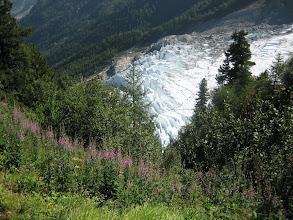 Photo: Vallée de Chamonix : Montée à la Jonction
