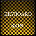 Orange Carbon Keyboard Skin icon