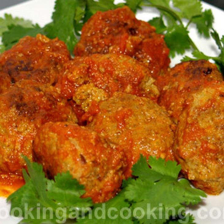 Curried Meatball or Kofta Curry Recipe