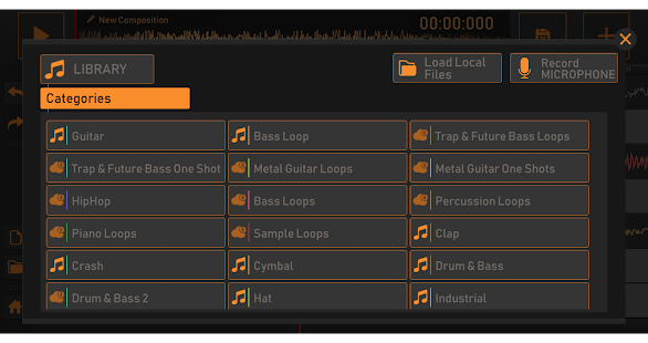 Song Maker - Free Music Mixer Screenshot